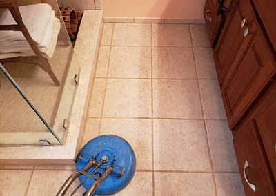 Doylestown, PA bathroom tile cleaning