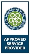 Carpet & Rug Institute Approved Service Provider Logo