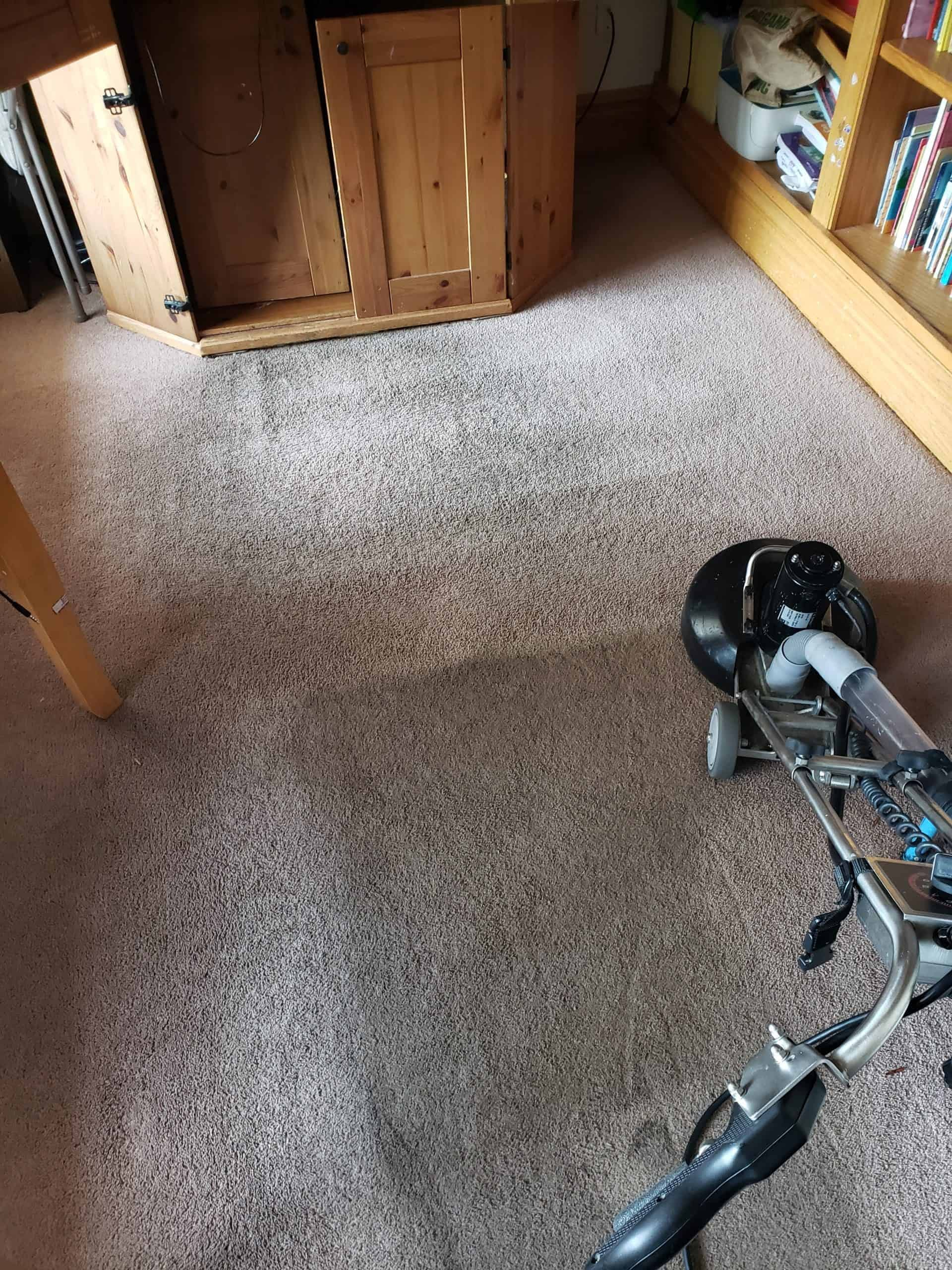 Cleaning carpets in Bucks County, PA