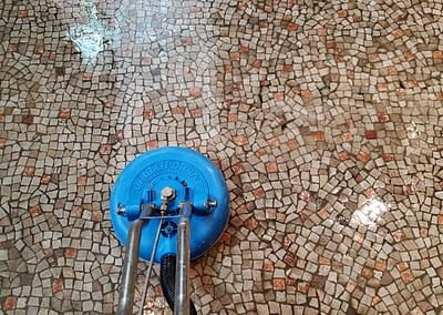 Montgomery County, PA stone tile floor cleaning