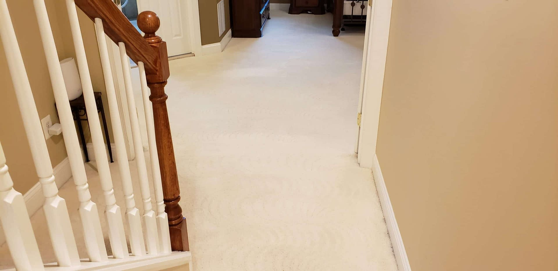 Chalfont, PA hallway carpet cleaning
