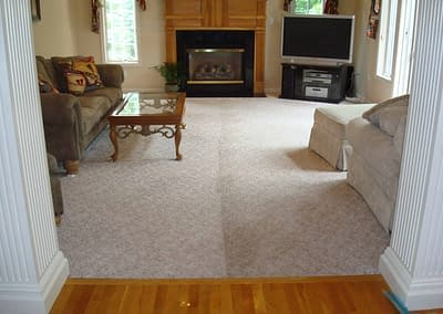 Family Room Carpet Cleaning in Center Valley, PA