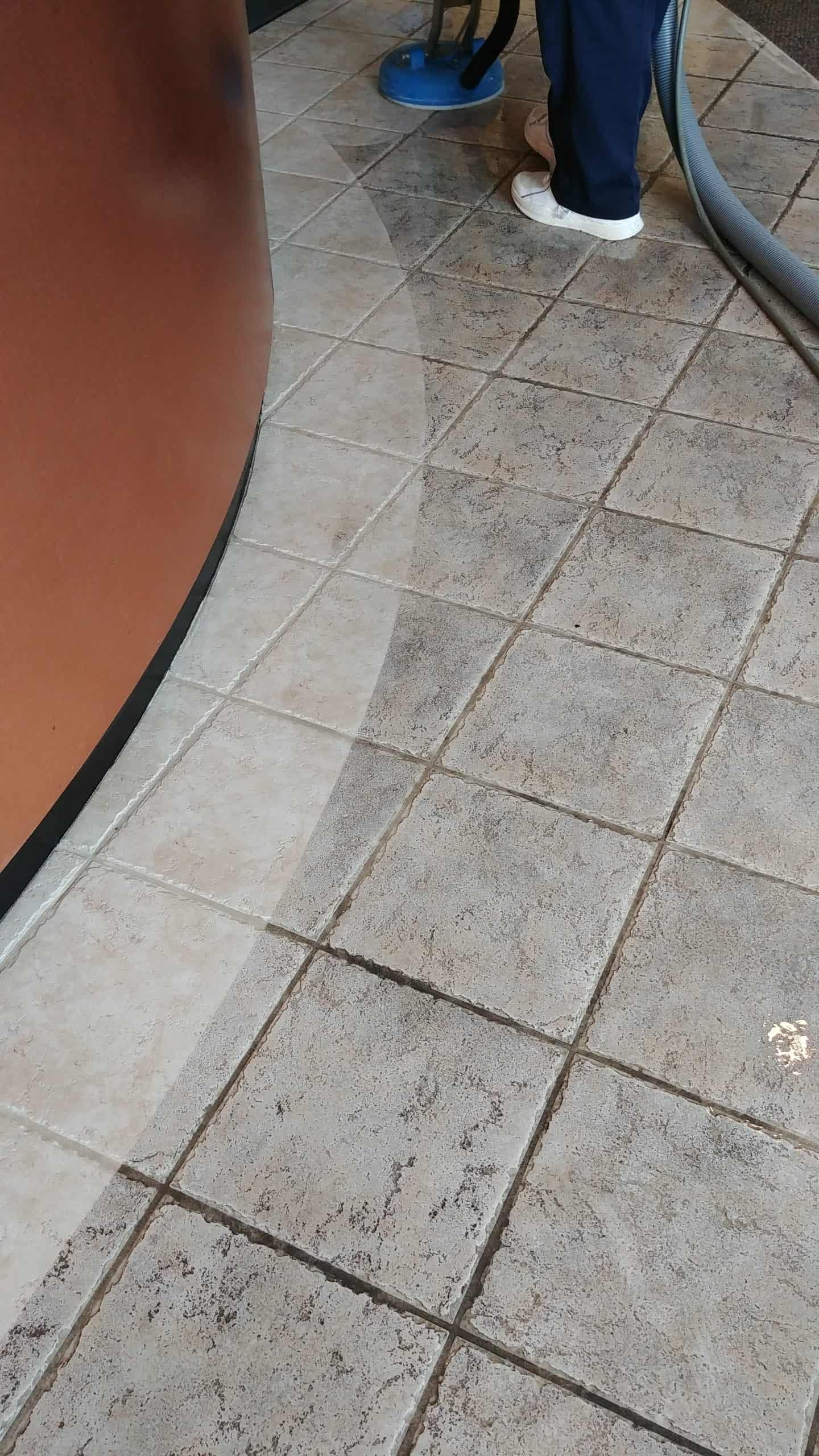 Tile and grout cleaning in Blue Bell, PA
