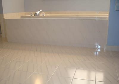 Bathroom tile cleaning in Doylestown, PA