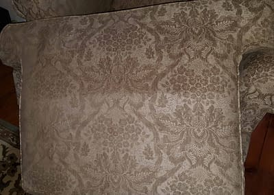 Sofa cushions cleaned in Doylestown, PA