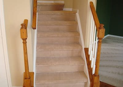 Clean stairs carpet in Chalfont, PA