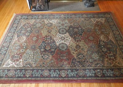 Rug cleaned in Doylestown, PA