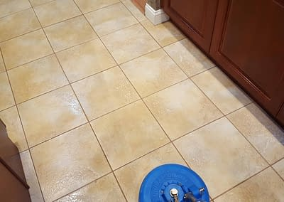 Kitchen tile and grout cleaning in Collegeville, PA