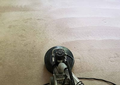 Cleaning beige carpet in Ambler, PA