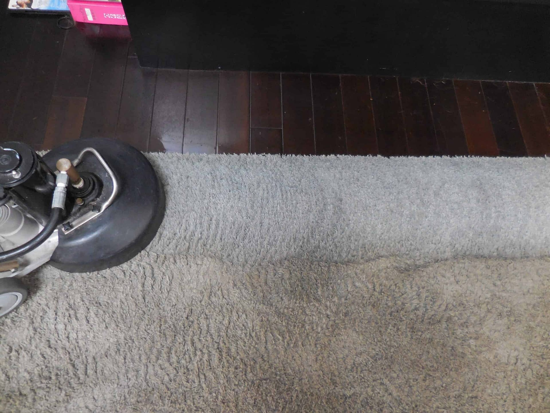 Very dirty carpet cleaned in Allentown, PA