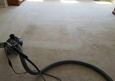 Bedroom carpet cleaning in Telford, PA