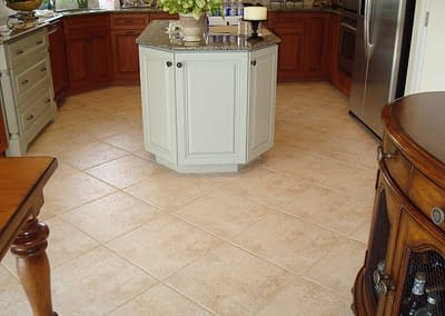 Clean Kitchen Tile
