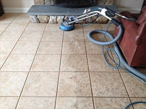 tile and grout cleaned by professional company