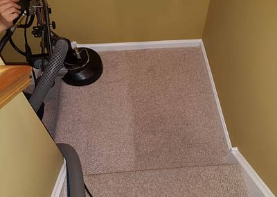 Cleaning stairs in Allentown, PA